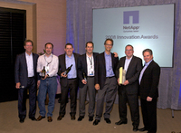 "NetApp verleiht Innovation Awards 2008: T-Systems wird ""Innovator of the Year"""