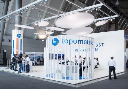 Topometric auf der Control 2017 in Stuttgart
