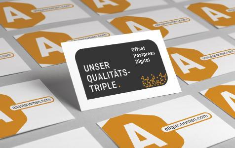 """Als erste Onlinedruckerei hat diedruckerei.de das """"Qualitäts-Triple"""" geschafft und ist nun sowohl für Offset, Weiterverarbeitung als auch den Digitaldruck qualitätszertifiziert / Copyright: Onlineprinters GmbH"""