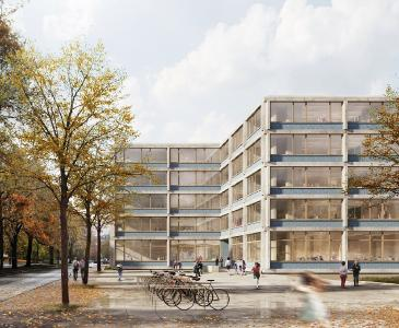 Die 4-zügigen Schulen von Bruno Fioretti Marquez Architekten werden an sechs Standorten innerhalb Berlins realisiert / Bild: © Bruno Fioretti Marquez Architekten