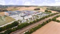 Firmengruppe Max Bögl errichtet schlüsselfertig ein neues Logistikzentrum für den Kunden tegut... © 2020 - Tollé Planungsgesellschaft mbH & Co. KG