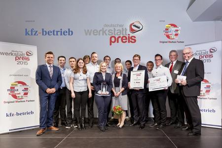 Den ersten Platz des Deutschen Werkstattpreises 2015 belegte das familiengeführte Unternehmen Auto-Park aus dem oberbayerischen Mailling / Foto: Bausewein