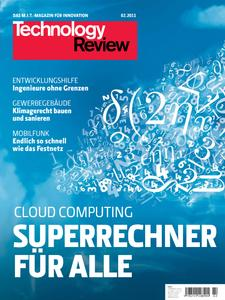 Das Titelbild der aktuellen Technology Review-Ausgabe 2/2011