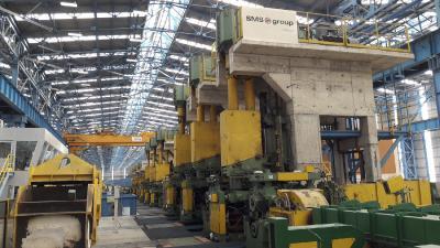 Das Walzwerk bei PT. Gunung Raja Paksi (Abbildung ähnlich) ist für eine Jahresproduktion von 500.000 Tonnen ausgelegt