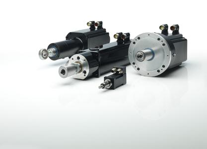 With the cyber force motors family of linear actuators from WITTENSTEIN cyber motor the ball screw can be regreased during operation – without having to stop the machine for maintenance