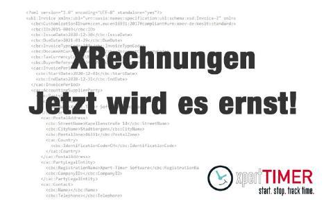 XRechnungen werden Pflicht bei Behörden. Schluss mit PDF!