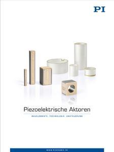 "New product catalog ""Piezoelectric Actuators - Components, Technologies, Operation"" (photo: PI)"