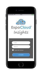ExpoCloud Insights iPhone Login