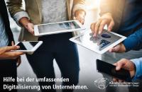 Digitalisierungspakete - Hilfe aus einer Hand bei der umfassenden Digitalisierung von Unternehmen.