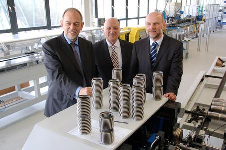 Geschäftsführer Dr. Hans-Eberhard Koch (Vorsitzender), Dr. Matthias Weiergräber und Dr. Gerhard Flöck
