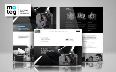 E-motor specialist MOTEG with new branding by SMACK Communications