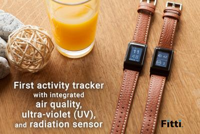Fitti Guard - the new generation of environmental and activity tracker is now available on Kickstarter