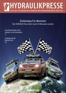 Titelbild Hydraulikpresse Ausgabe Dezember 2009