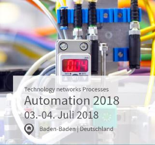 VDI Kongress AUTOMATION 2018