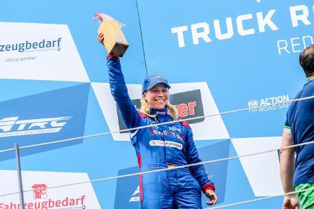 Steffi Halm zählt zu den erfolgreichsten Truckpiloten der letzten Jahre / Bild: Reinert Racing/Navkonzept GmbH