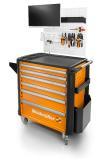 Ordnung und Effizienz am Arbeitsplatz: Der Weidmüller Werkzeugwagen mit variablen Werkzeugeinsätzen