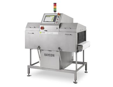 At the IFFA 2016 Sesotec presents the new RAYCON D X-ray scanner (Photo: Sesotec GmbH)