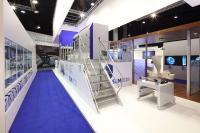 SLM 800 on the booth of SLM Solutions at formnext 2017