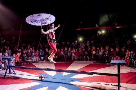 Bei der Zirkus-Gala am 18. Oktober 2015 in Leonberg hatten Groß und Klein viel Spaß zusammen / Bild: factum/Weise
