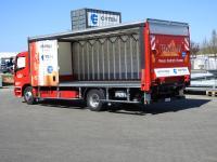 Nachhaltige Transportlösungen für die Getränkedistribution… / Bild: ORTEN Electric-Trucks