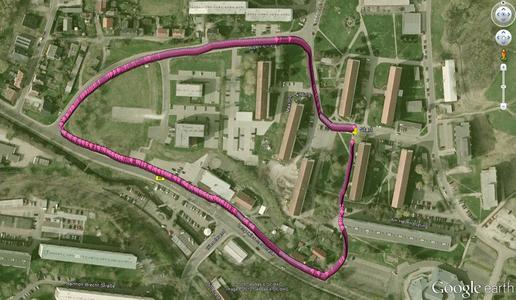 Mit SmartNavi kommt man präziser und mit weniger Akkuverbrauch von A nach B als mit GPS (© TU Ilmenau)