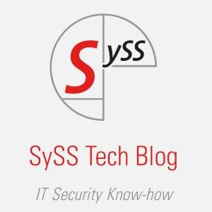 SySS Tech Blog