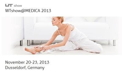 mic AG's Participation Wearable Technologies AG with seven new exhibitors at WTshow at Medica 2013
