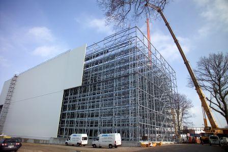 Platz für 15.000 Paletten bietet das neue Tiefkühllager von Coppenrath & Wiese