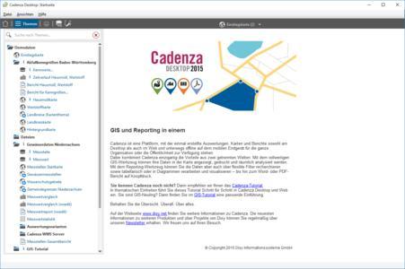 Disy Cadenza 2015 Abb 2 Startgrafik Desktop
