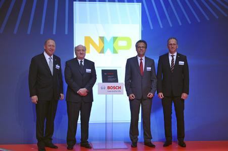 Bosch Supplier Award: NXP Semiconductors erhält Lieferantenpreis von Bosch