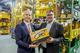 Leadership change in the ContiTech Power Transmission Group: Rolf Sudmann (left) will be succeeding Helmut Engel who is retiring after more than 44 years at Continental. Photo: ContiTech