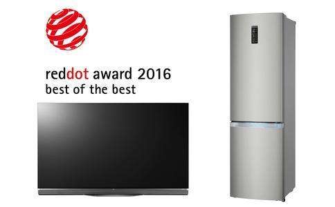 Bild LG Red Dot Awards 2016 Best of the Best
