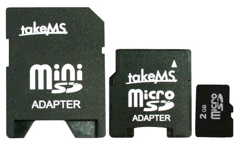 takeMS Micro SD 3in1 Solution