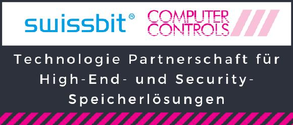Technologiepartnerschaft Swissbit und Computer Controls