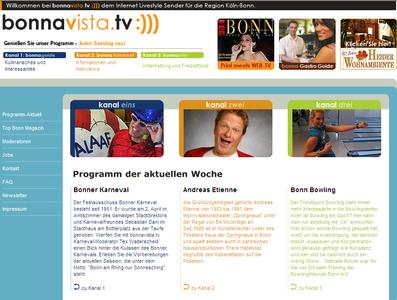 bonnavista.tv ist auf Sendung