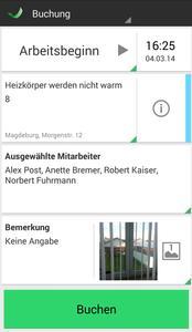 pds zeit - die neue App  für Handwerker