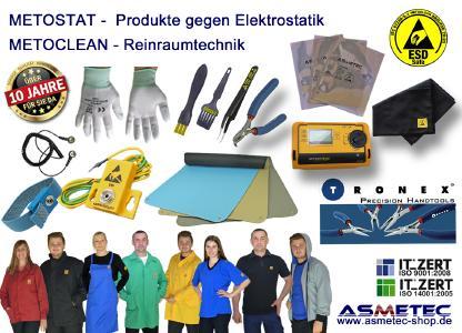 METOSTAT ESD Produkte / METOCLEAn ESD Kleidung