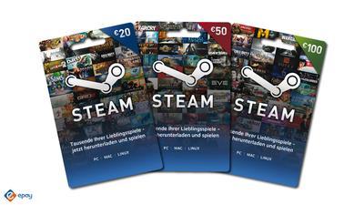 Steam Gutscheinkarten