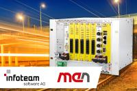 Engineering System for the menTCS Safe and Modular Train Control System