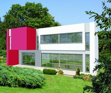 Modell Passiv-Haus