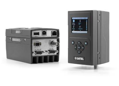 Der leistungsstarke UHF Datenfunkrouter SATELLAR XT 5RC IP garantiert sichere Datenkonnektivität für kritische Infrastrukturen