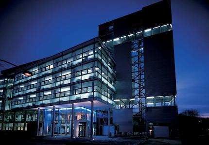 Das Aalener Wirtschaftszentrum: Sitz von JADENT