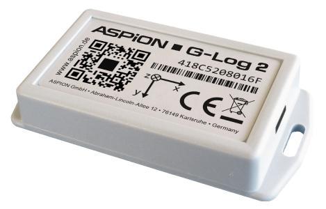 ASPION stellt erstmals auf der Fachpack die neue Generation seines Transport-Datenloggers ASPION G-Log 2 jetzt mit Feuchtemessung, BLE Funktechnologie und dreifacher Speicherkapazität vor.