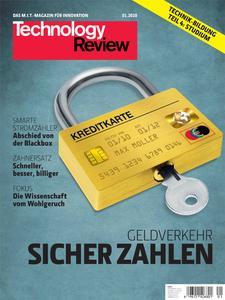 Das Titelbild der aktuellen Technologie-Review 1/2010