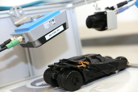 Detailaufnahme aus der Produktionssimulation (© United Planet GmbH)