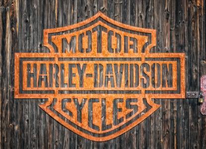 Berühmte Marke: Harley Davidson