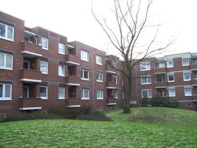 Wohnanlage Hamburg/Poppenbüttel, Ruscheweystraße vor der Sanierung