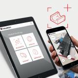 Pressemotiv: Augmented Reality-App von Hauraton