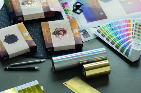 Kurz Instant Prototyping provides custom decorated packaging samples in a very short time / Photo: Kurz
