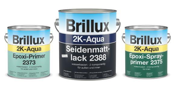 Neu im Sortiment: Brillux 2K-Aqua